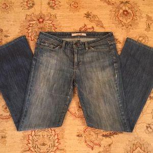 Joe's Distressed Denim Boot Cut Jeans Size 31